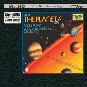 Gustav Holst - The Planets - André Previn & Royal Philharmonic Orchestra  --  CD ULTRA HD 32 BIT Mastering Made in USA