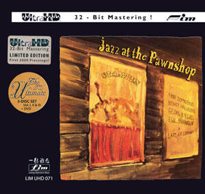 Jazz at the Pawnshop  --  3 CD ULTRA HD 32 Bit Mastering + DVD - Silver Logo Edition - Made in USA