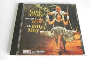 Anita O'Day swings Cole Porter with Billy May  --  CD Made in Japan - OBI