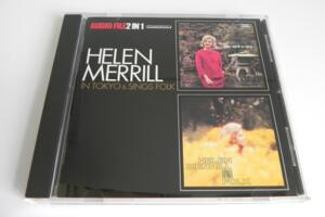 Helen Merrill in Tokio & Sings Folk  --  CD Made in Japan
