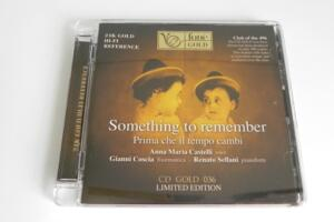 Something to Remember - Anna Maria Castelli  --  CD GOLG