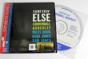 Cannonball Adderley - Somethin' Else  --  CD Made in Japan