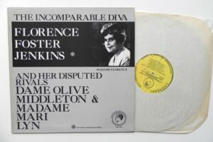 Florence Foster Jenkins - The Incomparable Diva and her Disputed Rivals  --  LP 33 giri