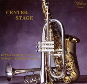 Lowell Graham - Center Stage  --  SACD Ibrido Made in USA