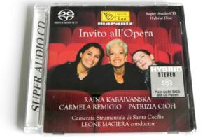 Raina Kabaivanska - Invito all'Opera ---  SACD Ibrido