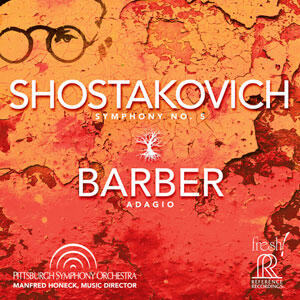 Shostakovich & Barber  - Symphony No. 5 & Adagio For Strings  --  Hybrid Multi-Channel & Stereo SACD