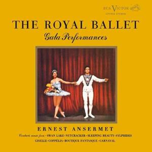 Ernest Ansermet - The Royal Ballet Gala Performances   --  Doppio SACD Stereo Ibrido con booklet in Boxset - Made in USA