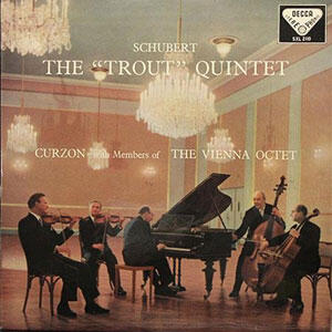 Schubert - The Trout Quintet  --   SAcd Stereo Ibrido Made in USA