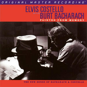 Elvis Costello with Burt Bacharach - Painted From Memory  --  SACD Ibrido Stereo in edizione limitata e numerata  Made in USA