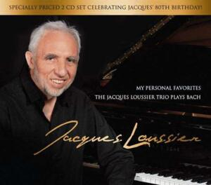 My Personal Favorites: The Jacques Loussier Trio Plays Bach  --  Doppio CD Made in USA