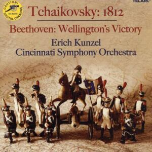 Tchaikovsky 1812 - Beethoven Wellington's Victory - Liszt  Battle of the Huns & Hungarian March to the Assault  --  CD Made in USA by Telarc - SEALED