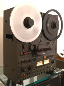 "OTARI MX-5050 - Open Reel Professional Tape Recorder - 2 tracks Play/Rec - 4 tracks play - 7,5 and 15 IPS - 1/4"" - Perfect - Fully refurbished and certified - 12 months guarantee"