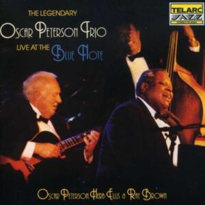 Oscar Peterson Trio - Live At The Blue Note   --  CD Made in USA