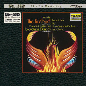 Stravinsky - The Firebird - Atlanta Symphony Orchestra and Chorus - Robert Shaw, conductor  --  UltraHD CD - Special Silver Logo First Pressing