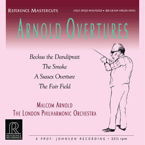 Malcolm Arnold  - Arnold Overtures   --  LP 33 giri Half-Speed Mastered 180g Made in USA