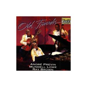 Old Friends / Previn - Lowe - Ray Brown  --  CD Made in USA
