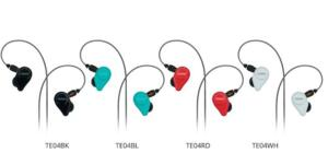 Fostex TE04 - Cuffia del tipo IN-EAR - Disponibile in vari colori
