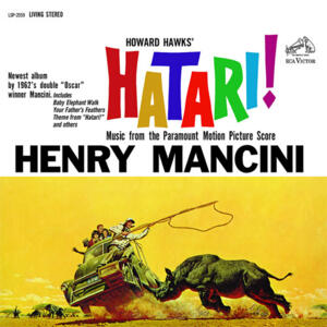 Henry Mancini - Hatari! Soundtrack  --  Doppio LP 45 giri 200 gr. Made in USA