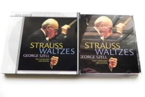 Strauss Waltzes / Johann Strauss - Josef Strauss / The Cleveland Orchestra - G. Szell  --  SACD Ibrido Made in USA