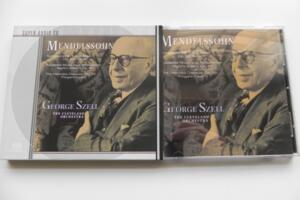 F. Mendelssohn - Symphony No. 4 - Incidental Music to A Midsummer Night's Dream - The Hebrides Overture  Op. 26 / The Cleveland Orchestra - G. Szell  --  SACD Ibrido Made in USA