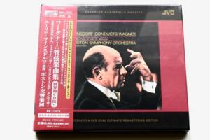 Erich Leinsdorf conducts Wagner / Boston Symphony Orchestra - E. Leinsdorf  --  XRCD24 Made in Japan