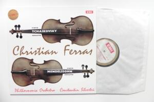 Tchaikovsky - Violin Concerto in D / Mendelssohn - Violin Concerto in E Minor / Philharmonia Orchestra - C. Silvestri / C. Ferras  -- LP 33 giri  180 gr. Made in Europe