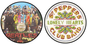 The Beatles - Sgt. Peppers Lonely Hearts Club Band LP (Picture Disc)  - 2017 Giles Martin Stereo Mix --  LP 33 rpm Made in USA