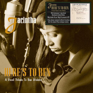 Jacintha - Here's To Ben A Vocal Tribute To Ben Webster  --  One-Step Numbered Limited Edition 180g 45rpm 2LP Made in USA - SEALED