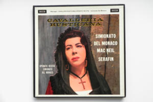 Mascagni: Cavalleria Rusticana - Operatic Recital / Simionato - Del Monaco -- Boxset 2  LP 33 giri - Made in UK