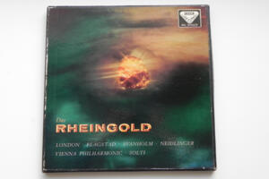 Wagner: Das Rheingold / Vienna Philharmonic / Georg Solti -- Boxset 3  LP 33 giri - Made in UK