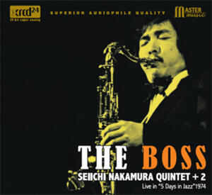 The Seiichi Nakamura Quintet+2  - The Boss   --  XRCD24 Made in Japan