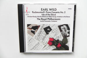 Rachmaninov: Piano Concert No.2 , Isle of the Dead / The Royal Philharmonic - J. Horenstein  --  CD Made in USA
