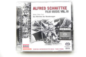 Film Music Edition , Vol III / Alfred Schnittke / SACD / Made in EU