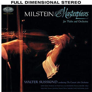 Nathan Milstein - Masterpieces for Violin & Orchestra  --  Hybrid Stereo SACD Made in USA