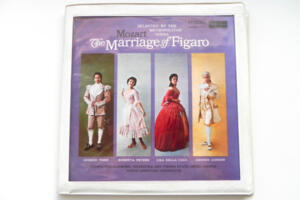 Mozart: The Marriage of Figaro / Vienna Philharmonic Orchestra and Vienna State Opera Chorus - E. Leinsdorf -- Boxset 4 LP 33 giri - Made in UK
