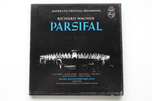 R. Wagner: Parsifal / The Chorus and Orchestra of the Bayreuth  Festival - H. Knappertsbusch -- Boxset 5 LP 33 giri - Made in HOL/USA