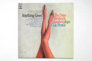 Anything Goes! / The Dave Brubeck Quartet plays Cole Porter   --  LP 33 giri - Made in Japan