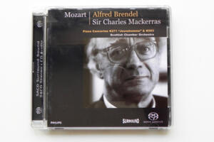 Mozart: Piano Concertos K271 & K503 / Scottish Chamber Orchestra - Sir C. Mackerras / A. Brendel --  SACD Ibrido - Made in EU