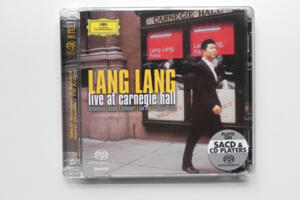 Lang Lang - Live at Carnegie Hall  / Lang Lang  --  Doppio SACD Ibrido - Made in EU