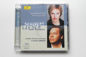 Schubert Lieder with Orchestra / Chamber Orchestra of Europe - C. Abbado, direttore  --   SACD Ibrido - Made in EU