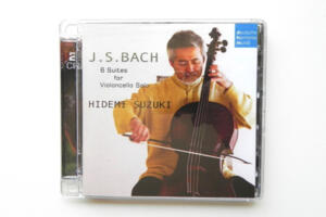 J.S.Bach: 6 Suites for Violoncello Solo / Hidemi Suzuki --  Doppio SACD Ibrido - Made in EU
