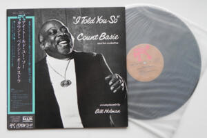 I Told you So - Count Basie and his orchestra  -- LP 33 giri - Made in Japan - OBI