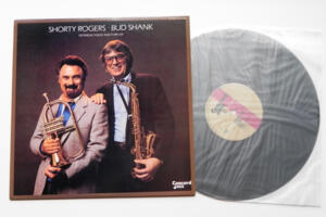 Yesterday, Today and Forever - Shorty Rogerts / Bud Shank   --  LP 33 giri - Made in Japan