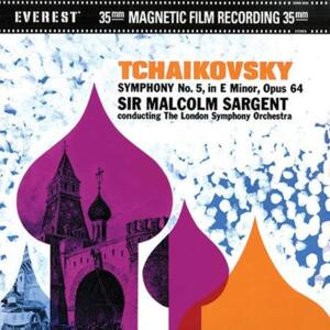 Tchaikovsky - Symphony No. 5 - London Symphony Orchestra Sir Malcolm Sargent, conductor  --  Doppio LP 45 giri su vinili 200 gr. Made in USA