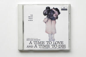 A Time to Love and a Time to Die (colonna sonora originale) - M. Rozba --   CD Made in Japan