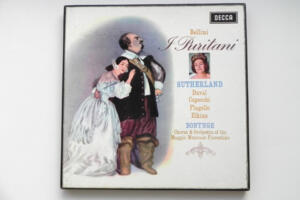 I Puritani - Bellini / Chorus and Orchestra of the Maggio Musicale Fiorentino - Bonynge  --  Boxset 3 LP 33 rpm - Made in England