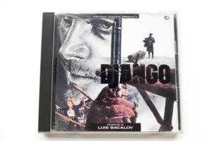 Music from the Soundtrack of Django / Luis Bacalov  --  CD Made in Japan