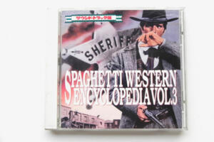 Spaghetti Western Encyclopedia Vol. 3  --  CD Made in Japan