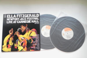 Newport Jazz Festival Live at Carnegie Hall (July 5, 1973) / Ella Fitzgerald -- Doppio LP 33 giri  - Made in Japan