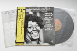 How long has this been going on? / Vaughan, Peterson, Pass, Bellson, Brown --   LP 33 giri - Made in Japan OBI